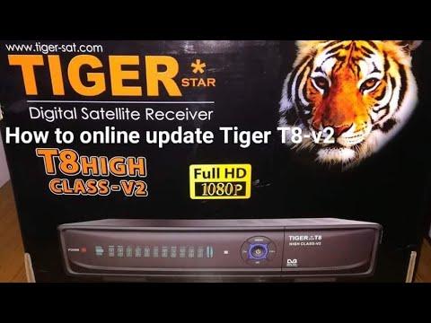 Tiger T8 High Class V2 New Software 3 03 Some bug Problem - смотреть