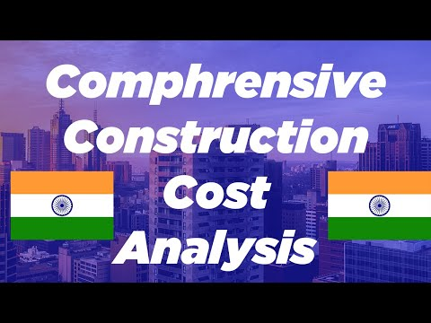Planning, Budgeting and Forecasting (PBF) construction cost analysis