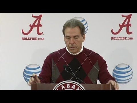 Nick Saban full press conference as Alabama preps for LSU