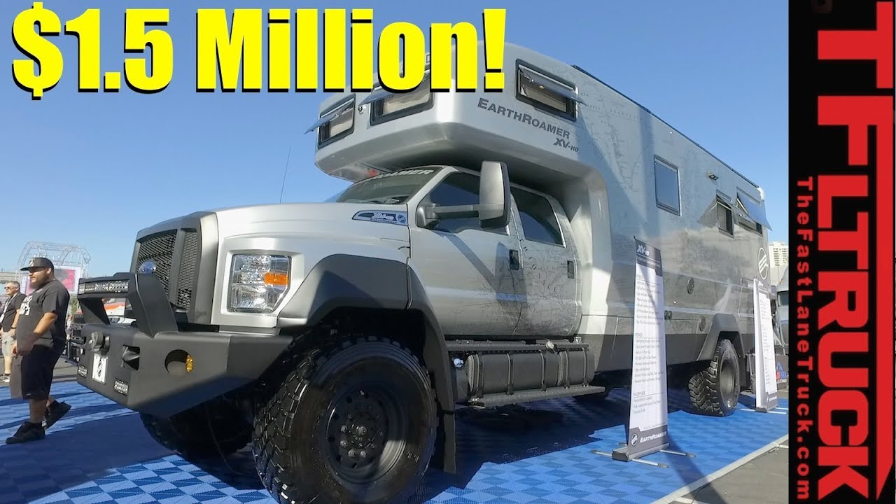 The Ultimate $1.5 Million EarthRoamer Luxury 4×4 RV Revealed