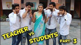 Teacher Vs. Students Part 3