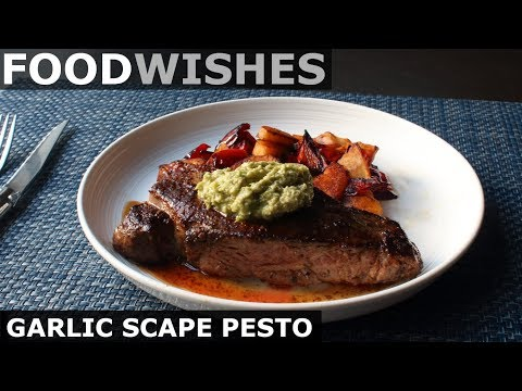Garlic Scape Pesto – Food Wishes