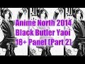 Anime North Black Butler Yaoi 18+ Panel (Part 2)