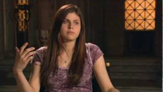 Александра Даддарио, Percy Jackson Movie - Alexandra Daddario Interview