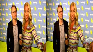 Comic Con 3DTV - Laurie Holden & Glen Mazzara