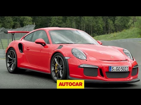 Porsche 911 GT3 RS - Flat out on track