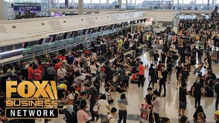 What the Hong Kong airport chaos could mean for Trump and trade