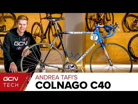 Andrea Tafi's Paris-Roubaix Winning Colnago C40 Race Bike | GCN Tech Retro Pro Bike