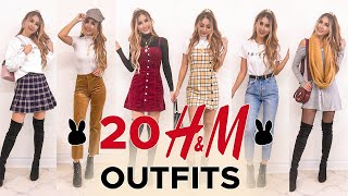 20 H&M Outfits UNDER $50   FALL TRY-ON HAUL & REVIEW