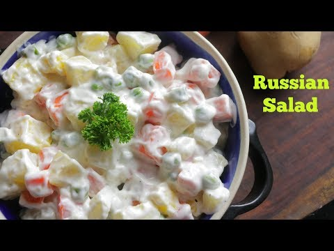 RUSSIAN SALAD   Best Healthy Tasty Salad   Best for all parties   By Chef Adnan