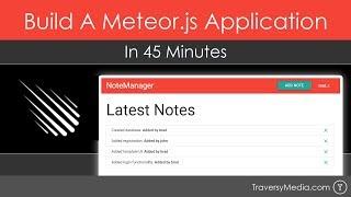 Build A Meteor.js App In 45 Minutes