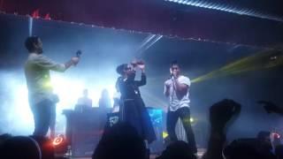 Manj Musik, Nindy Kaur and Raftaar in Auckland Nz- Manj, Nindy Kaur and Raftaar-Tamanche pe Disco