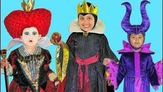 Disney Villains Maleficent Queen Of Hearts Evil Queen | Makeup Halloween Costumes And Toys