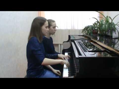 Фортепианный дуэт Васечка Дарья – Новосёлова Анастасия