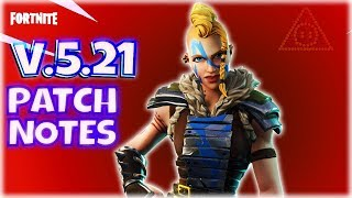 Fortnite PvE : Version 5.21 Patch Notes
