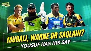 Murali, Warne or Saqlain? Mohammad Yousuf has his say on All-Time XI