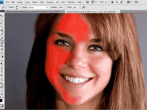 Photoshop | Smooth Skin and Focus Sharpening