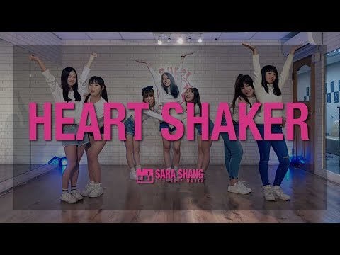 """TWICE(트와이스) - """"Heart Shaker""""' Dance Practice (Cover by Sara Shang + Super Sweet students)"""