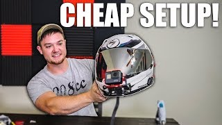 How To Set Up Your Helmet for CHEAP!!!