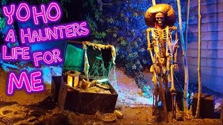 Disneylands Pirates Of The Caribbean Ride Inspired Halloween Yard Display | Pirate Decoration Ideas