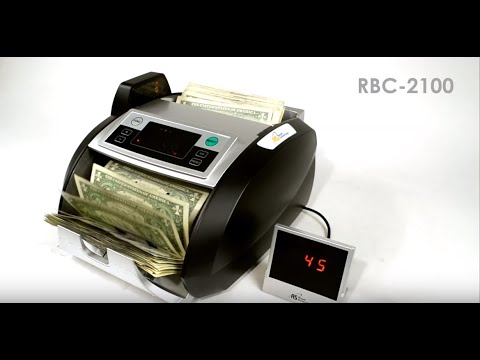 Royal Sovereign High Speed Bill Counter with Counterfeit Detection (RBC-2100)