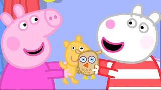 Kids TV & Stories | Peppa Pig's Sleepover | Peppa Pig Full Episodes