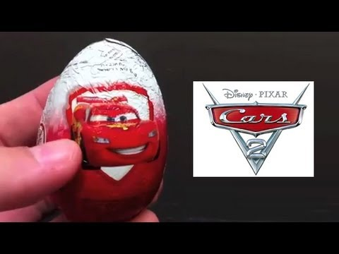 ★Amazing Surprise Eggs Disney Pixar Cars 2013 With Car Toy Unboxing Review Finn McMissile