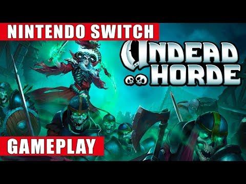 Undead Horde Nintendo Switch Gameplay