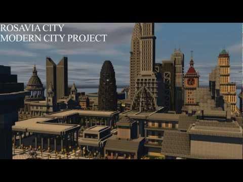 minecraft modern city map download 1.7.10