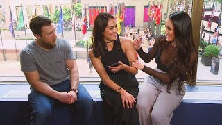 "Nikki Bella is asked to be on ""Dancing with the Stars"": Total Divas Preview Clip, Jan. 17, 2018"