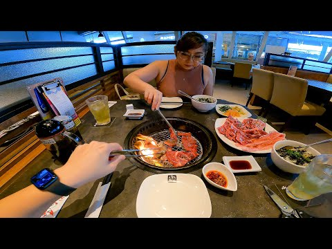 Japanese All-You-Can-Eat Wagyu BBQ Buffet