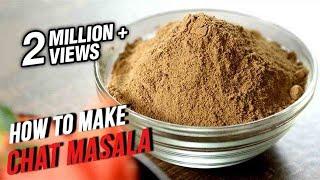 How To Make Chat Masala | The Bombay Chef - Varun Inamdar | Basic Cooking