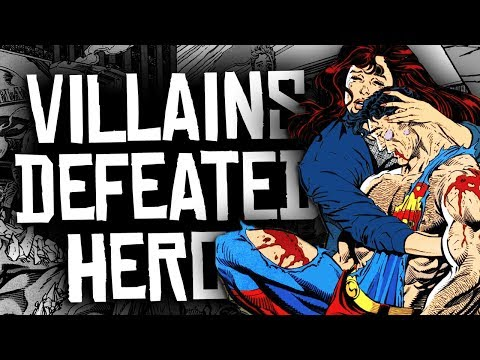 10 Marvel and DC Villains Who DEFEATED Superheroes!
