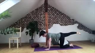 Rheum-Yoga Flankendehnung