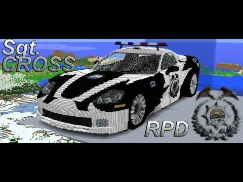 Chevrolet Corvette ZR1 Sgt Cross Edition Minecraft Project
