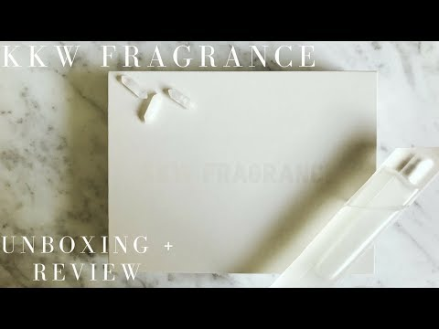 Kim Kardashian West's new perfume: KKW FRAGRANCE Unboxing + Review