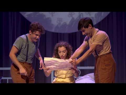 Προεσκόπηση βίντεο της παράστασης Η μωβ ομπρέλα.