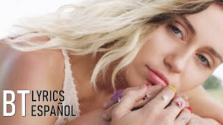 Miley Cyrus   Malibu (Lyrics + Español) Video Official