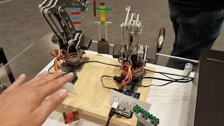 Mr  Mess robot demo  ROS - Самые лучшие видео