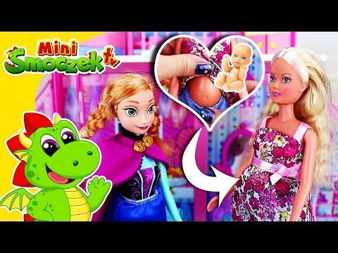 Barbie w CIĄŻY - Anna, Steffi Love i Dzidziuś - Lalki Zabawki Bajki Dla Dzieci Po Polsku