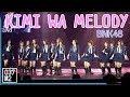 190127 BNK48 Kimi wa Melody AKB48 Group Asia Festival 2019 Fancam 4K 60p