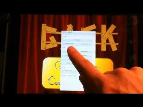 Video of Gaming App Construction Kit