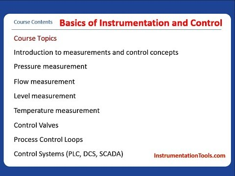 Basics of Instrumentation and Control | Free Download ... - YouTube