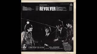 THE BEATLES REVOLVER VINTAGE LP VINYL ALBUM