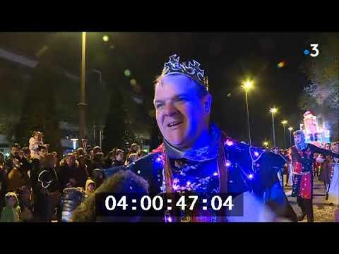 Des milliers de Nantais dans les rue pour le carnaval nocturne✅