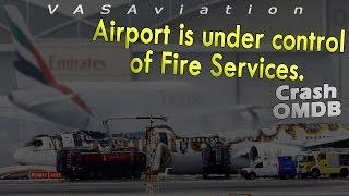 [REAL ATC] Emirates B777 CRASH then BURNT at Dubai OMDB! | Kholo.pk