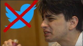 fui banido do twitter