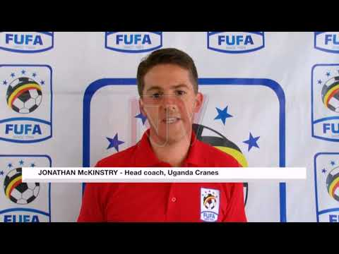 Cranes manager, Mckinstry urges Ugandans to stay calm