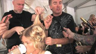 Cutler/Redken howto and Style, Carlos Miele New York Fashion Week Spring 2010