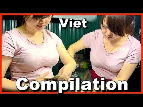 Street Food Around The World Compilation - Ep1 Street food in Vietnam